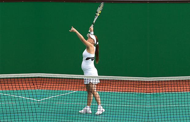 gravidez Image- Shutterstock Play-Tennis-During-Pregnancy